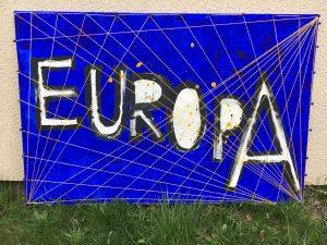 Kunstprojekt Europäischen Union
